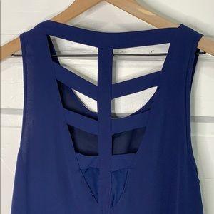 Umgee Dress Cutout Back